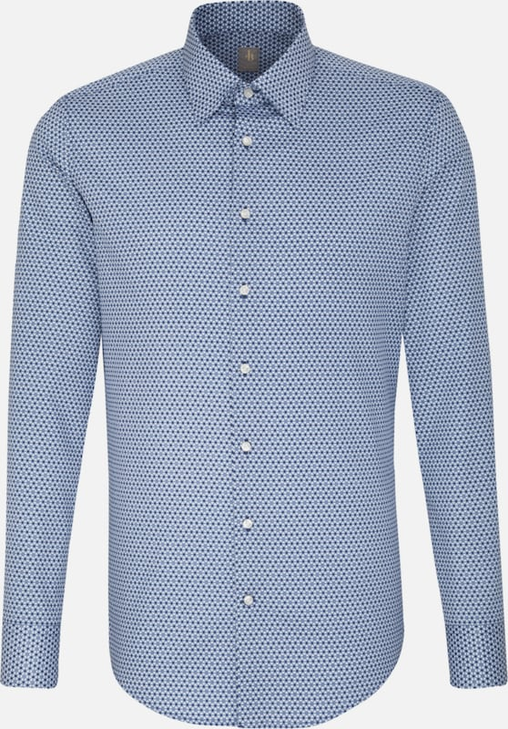 Jacques Britt Business Hemd ' Slim Fit ' in blau, Produktansicht