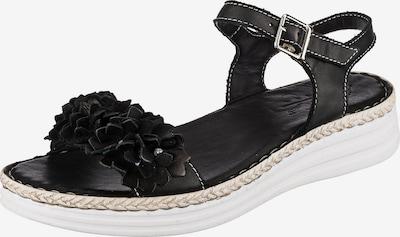 ANDREA CONTI Sandale in schwarz, Produktansicht