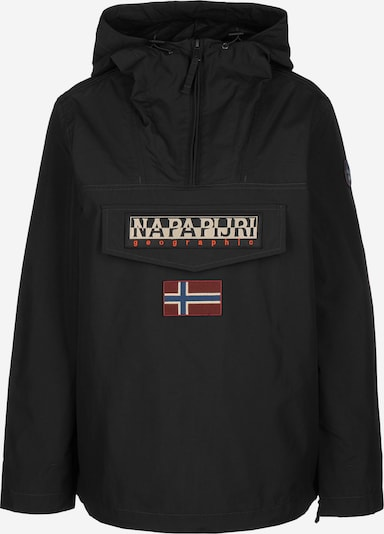 NAPAPIJRI Windbreaker 'RAINFOREST SUM 2' in schwarz, Produktansicht