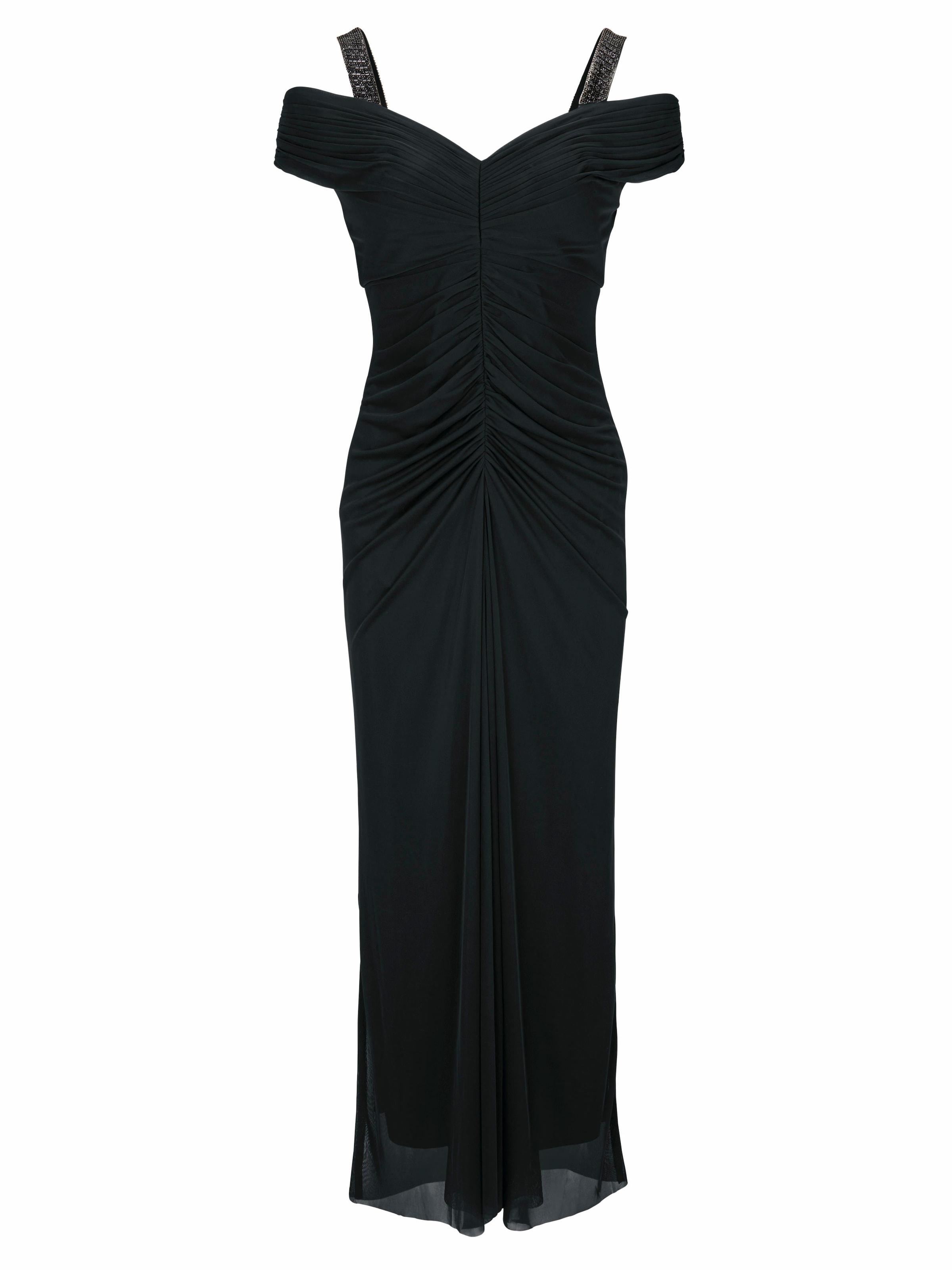 Günstiger Online-Shop Online-Verkauf Ashley Brooke by heine Abendkleid Carmenausschnitt Werksverkauf Auslass Niedriger Versand FVN77W
