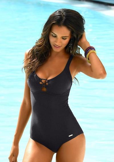 SUNSEEKER Badeanzug in schwarz, Modelansicht