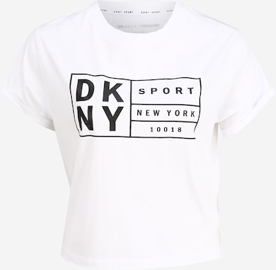 DKNY Sport Funkční tričko - černá / bílá, Produkt
