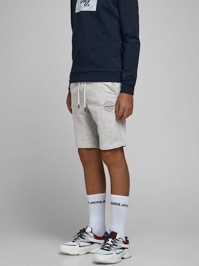 Jack & Jones Junior Shorts in graumeliert: Frontalansicht