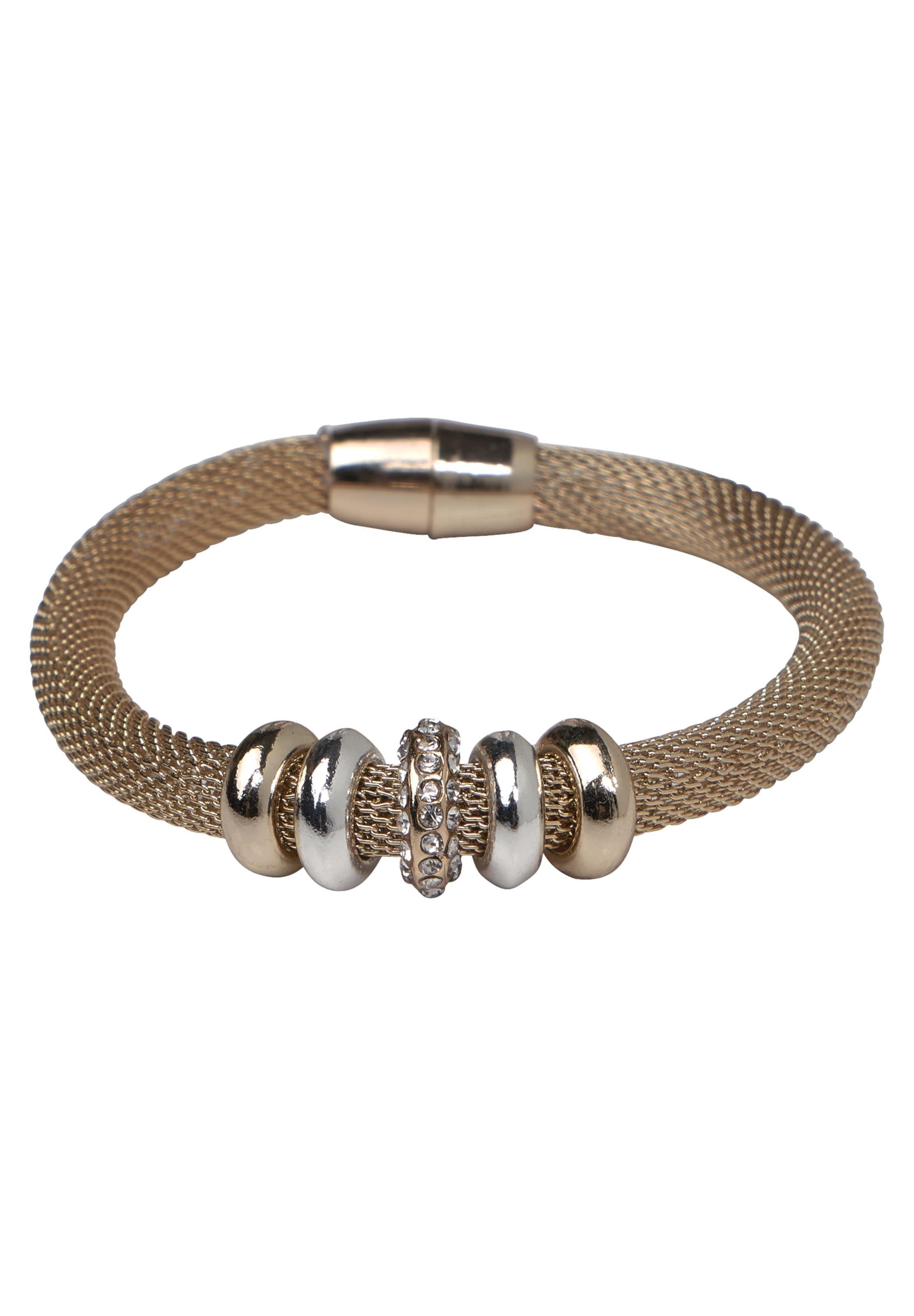STREET ONE Netz Armband mit Strass Sneakernews Online Vorbestellung 3h0Pp5Qs