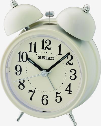 SEIKO Wecker 'QHK035C' in beige / schwarz, Produktansicht