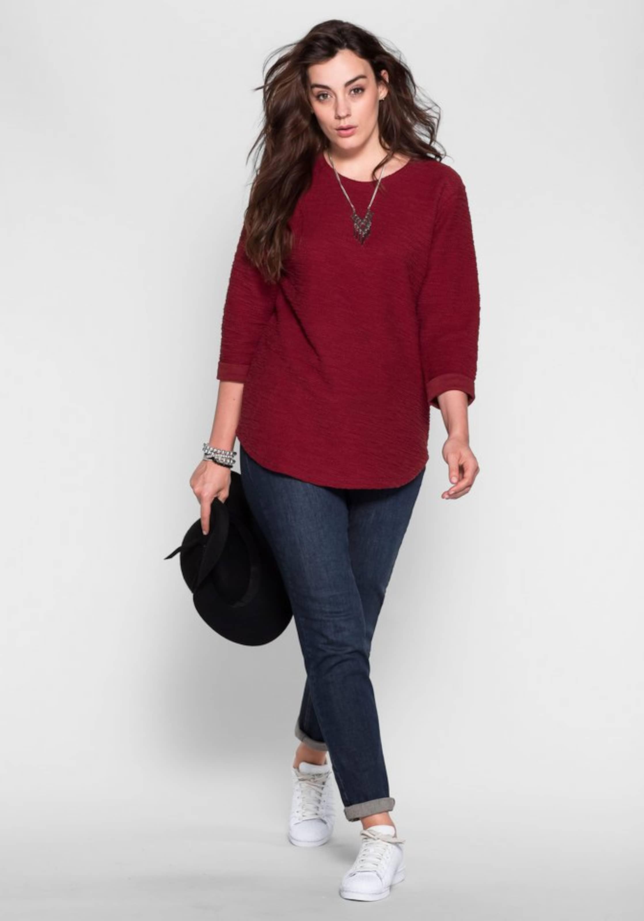 Rabatt Erschwinglich sheego casual Sweatshirt Steckdose Billig Authentisch Outlet Besten Großhandel Ofolg