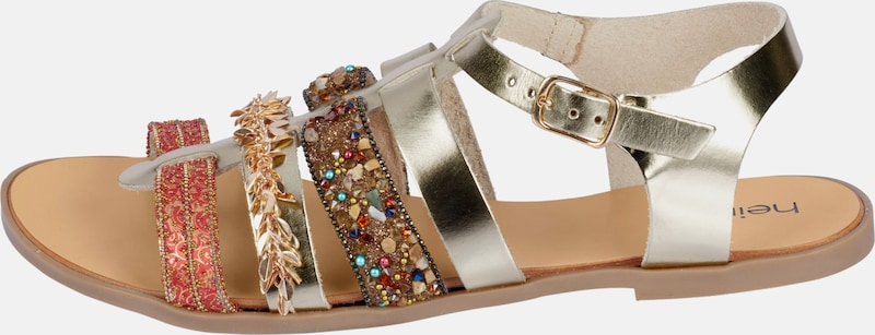 heine Sandalette mit Schmuckelementen