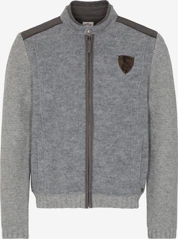 SPIETH & WENSKY Knitted Janker 'Kautsee' in Grey