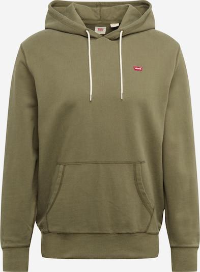 LEVI'S Sweatshirt in oliv, Produktansicht