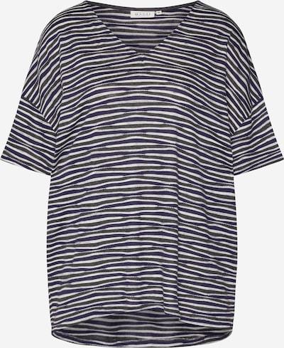 Masai T-shirt 'Dalia' en crème / bleu marine, Vue avec produit