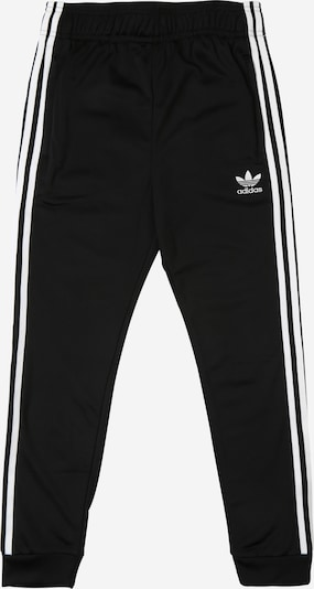 ADIDAS ORIGINALS Hose 'Superstar' in schwarz / weiß, Produktansicht