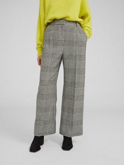 EDITED Kalhoty 'Juna' - černá / bílá, Model/ka