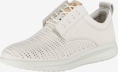 ECCO Sneakers 'Aquet Ladies White Trento' in weiß: Frontalansicht