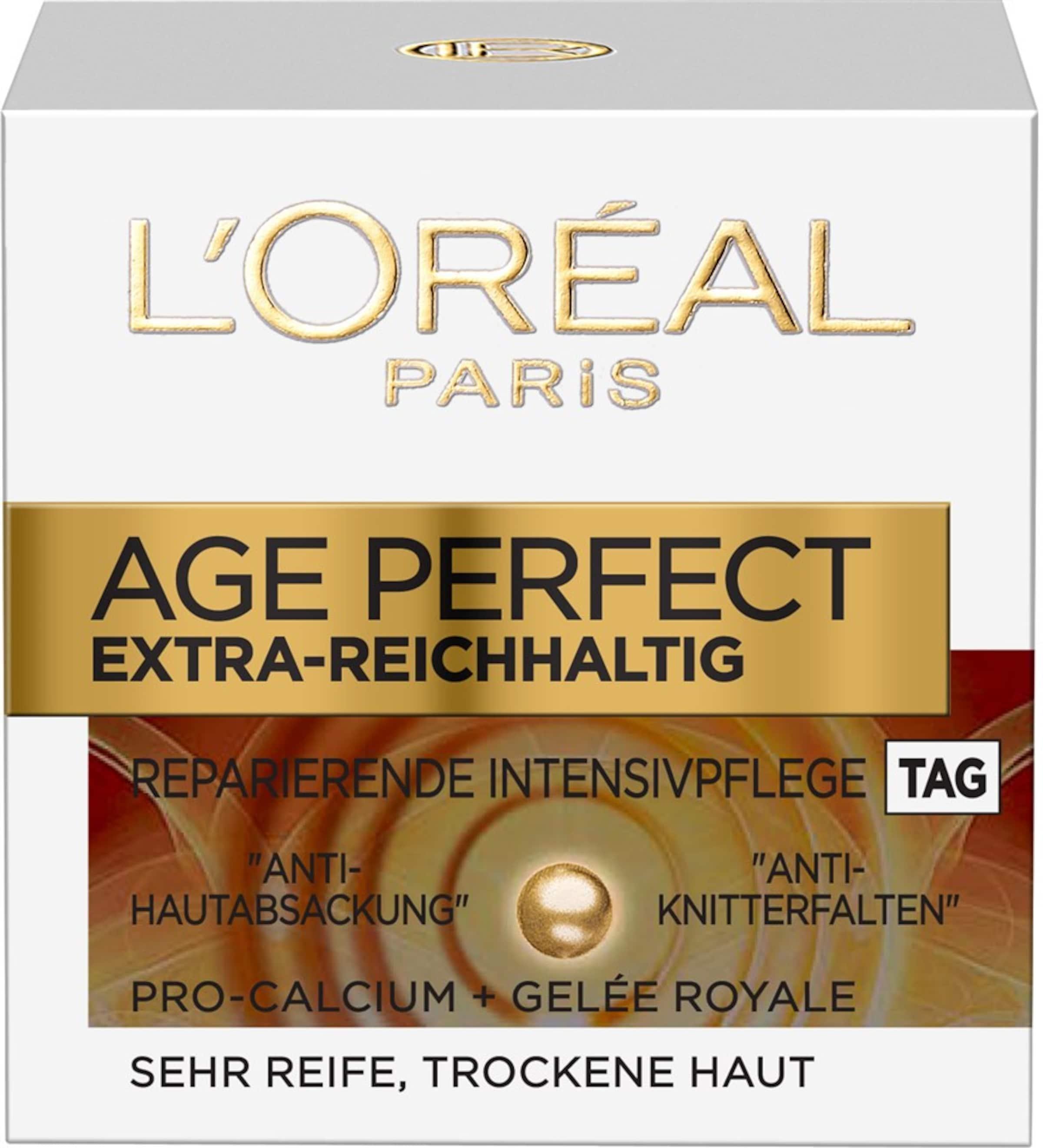 L'Oréal Paris 'Age Perfect Extra-Reichhaltig' Tagespflege Auslass Original JGMPAuzo