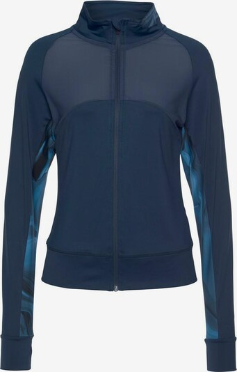 LASCANA ACTIVE Trainingsjacke 'Like a Feather' in marine, Produktansicht