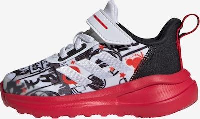 ADIDAS PERFORMANCE Schuh 'Mickey FortaRun AC' in rot / schwarz / weiß, Produktansicht