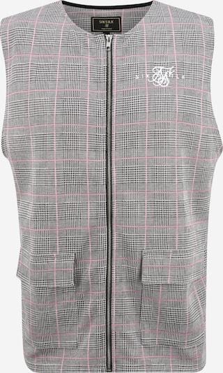SikSilk Weste in grau / rosa, Produktansicht