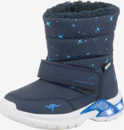 KangaROOS Winterstiefel 'Blinkies Icerush' in ultramarinblau, Produktansicht