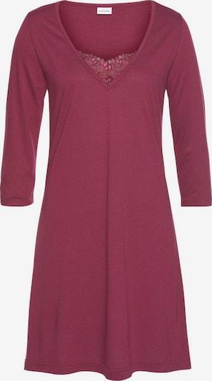 LASCANA Nachthemd in pastellrot, Produktansicht