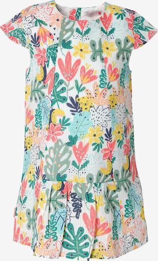 Boboli Kleid in gelb / grün / weiß, Produktansicht