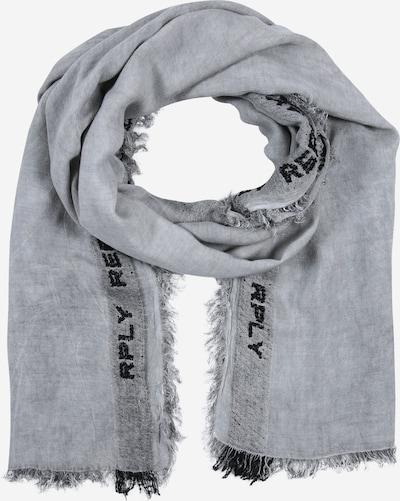Fular REPLAY pe gri / negru, Vizualizare produs
