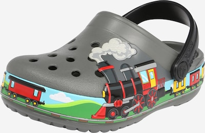 Crocs Clogs in blau / gelb / rauchgrau / grün / rot, Produktansicht