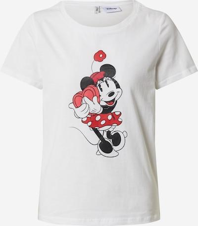 ONLY Shirt 'DISNEY VALENTINE' in de kleur Wit, Productweergave