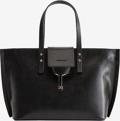 MANGO Shopper 'Hft Paulova' in de kleur Zwart, Productweergave