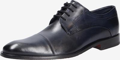 bugatti Schnürschuhe in dunkelblau, Produktansicht