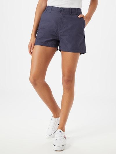 Tommy Jeans Chino kalhoty 'TJW ESSENTIAL CHINO SHORT' - námořnická modř: Pohled zepředu