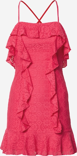 Love Triangle Robe de cocktail 'Flamingo' en rose néon, Vue avec produit
