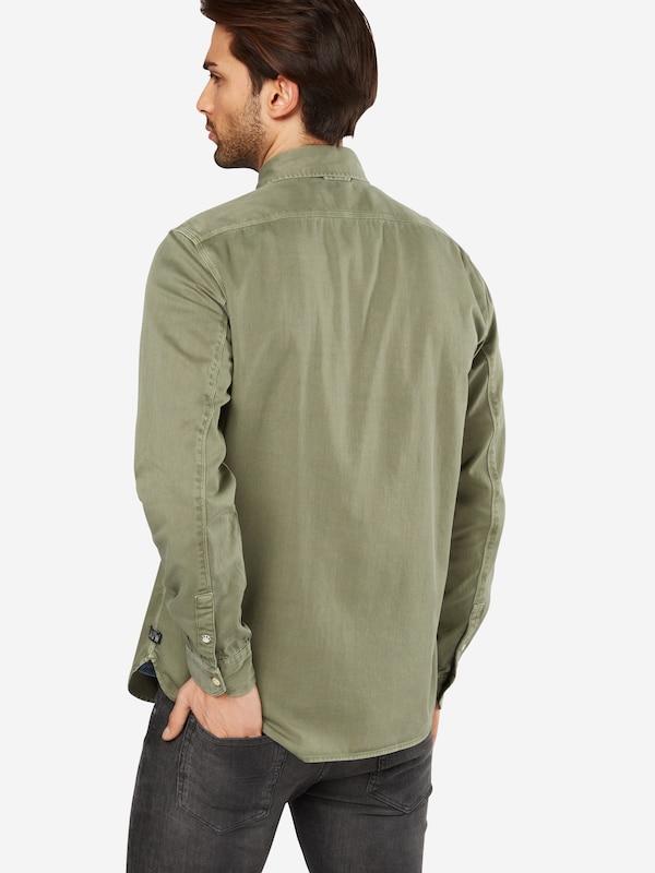 SCOTCH & SODA Hemd 'Oversized garment dyed workwear shirt'