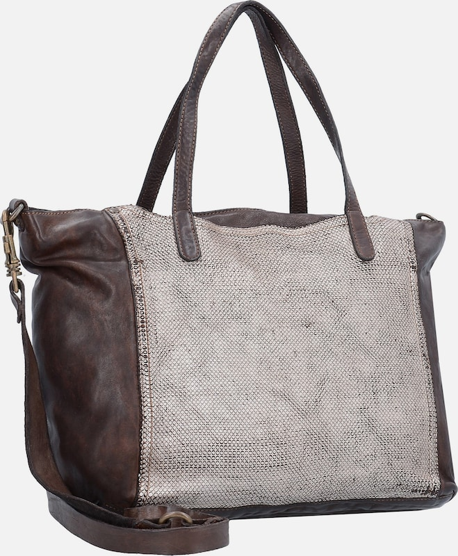 Campomaggi Traditional Shopper Leder Pockets 35 Cm