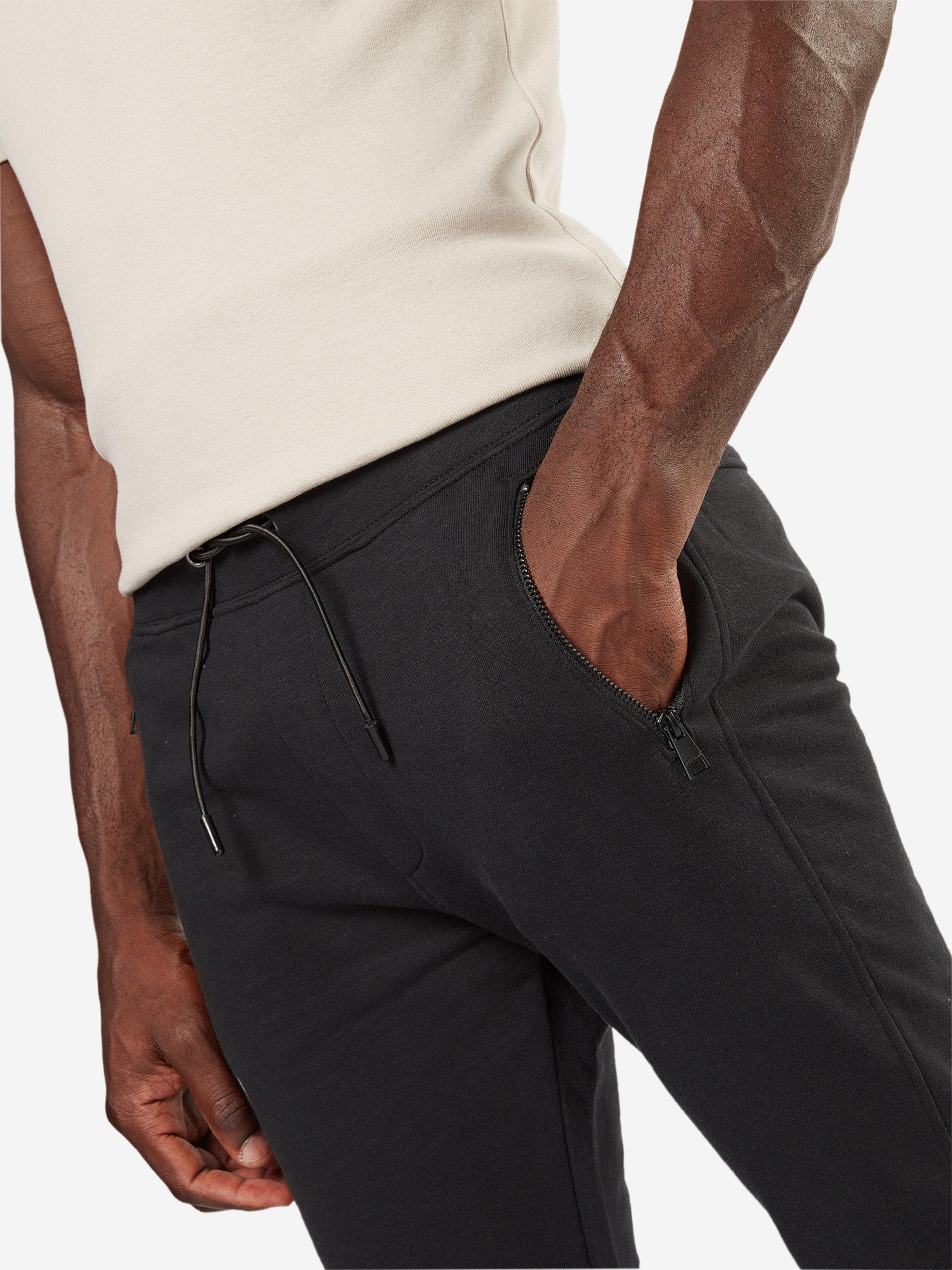 TAILOR zipdetails' with DENIM TAILOR TOM TOM 'jogpant Sweatpants qxpfp0E6w