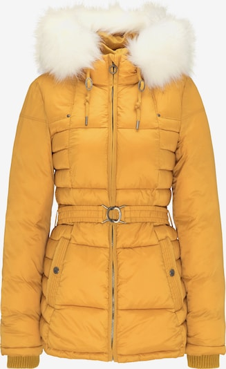 DREIMASTER Veste d'hiver en jaune / blanc cassé, Vue avec produit