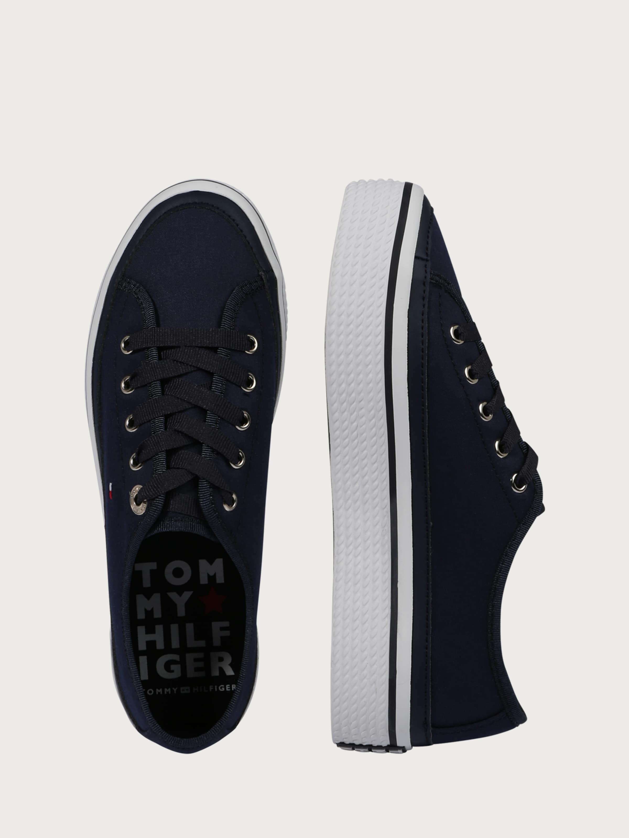 TOMMY HILFIGER Sneaker 'CORPORATE FLATFORM' Wählen Sie Eine Beste Authentisch Rabatte Günstig Online Billige Sneakernews p7A5H7EBa