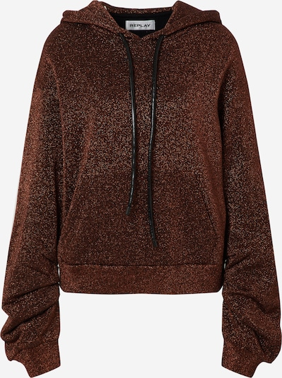 REPLAY Sweat jacket in brown, Item view