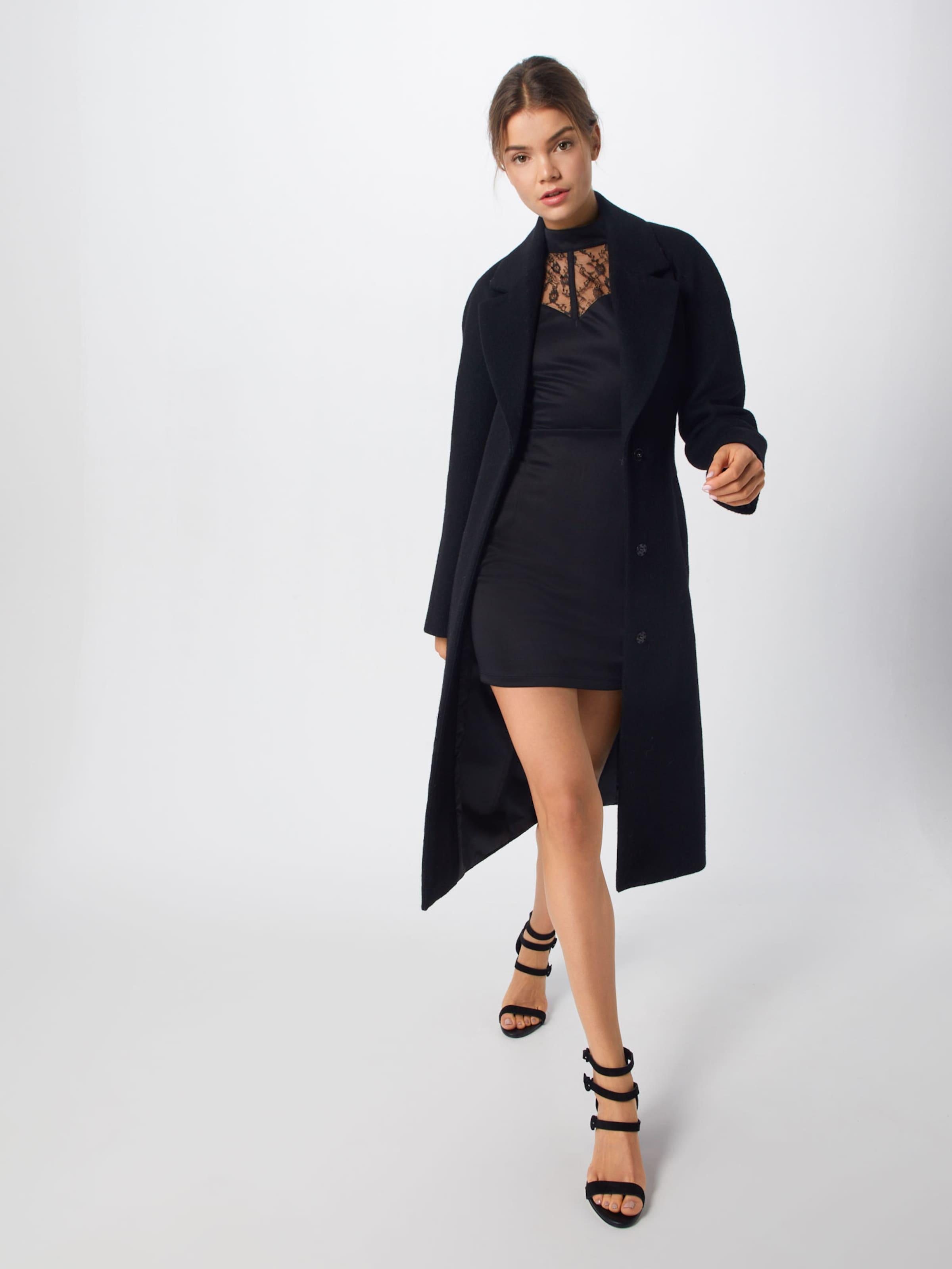 Harness Mini Missguided 'lace Sweetheart Dress' Detail Kleid Schwarz Neckline In ZkPXiuO