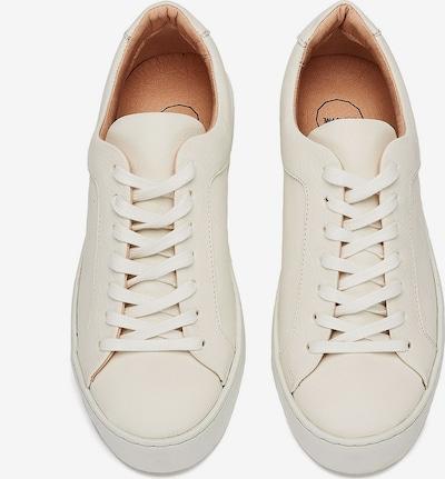NINE TO FIVE Sneaker 'Laced' in weiß, Produktansicht