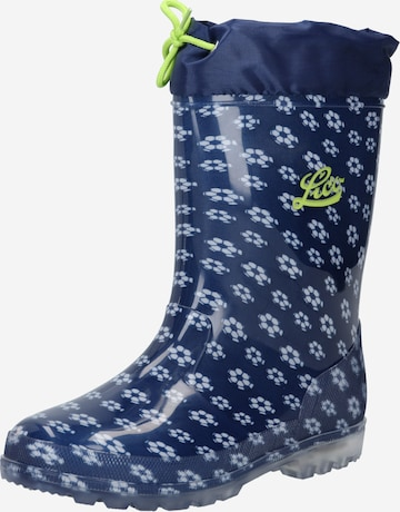 LICO Rubber boot 'Power Blinky' in Blue