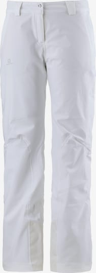 SALOMON Hose 'Icemania' in weiß, Produktansicht
