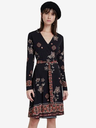 Desigual Kleid 'SINGAPUR' in mischfarben / schwarz, Modelansicht