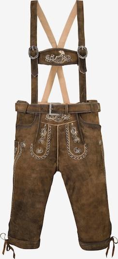 MARJO Pantalon folklorique en marron, Vue avec produit