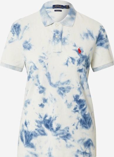 POLO RALPH LAUREN T-shirt en bleu clair / blanc, Vue avec produit