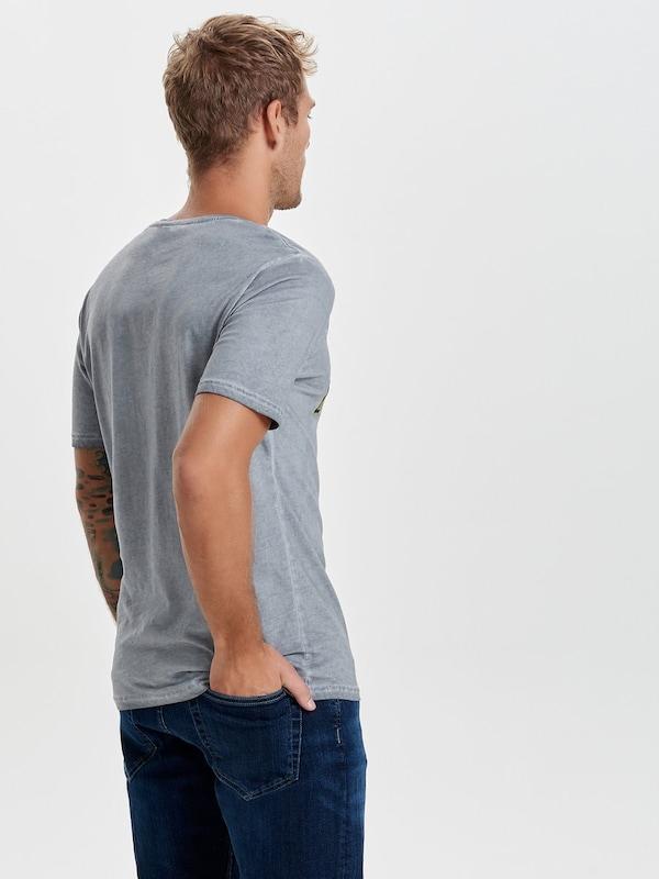 Only & Sons T-Shirt Bedrucktes