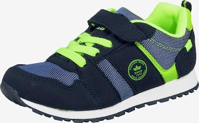 LICO Sneakers 'Rosario VS' in blau / nachtblau / neongrün, Produktansicht