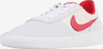 Nike SB Sneaker 'Team Classic' in creme / hellgrau / rot, Produktansicht