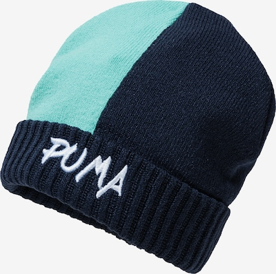 PUMA Beanie 'Mini Cats' in blau, Produktansicht