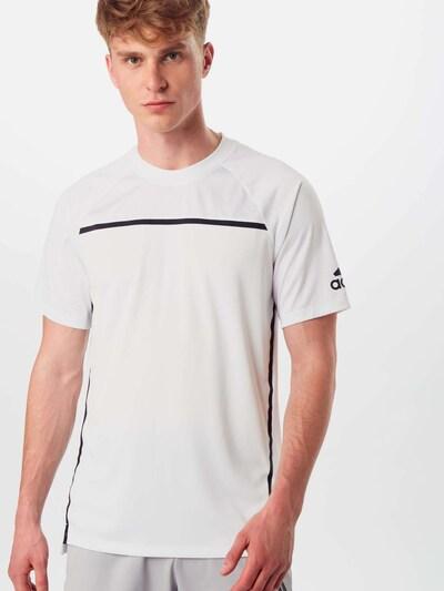 ADIDAS PERFORMANCE Funkční tričko - bílá: Pohled zepředu