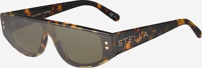 Stella McCartney Sonnenbrille in dunkelbraun / gold: Frontalansicht